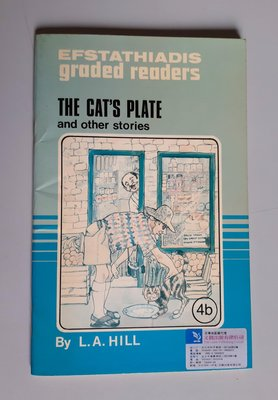國中英文閱讀與寫作 The Cats Plate  (4b)〈Efstathiadis〉書況新