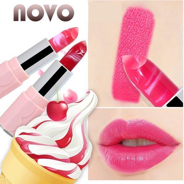 NOVO Lips-talk 幻彩冰淇淋藝術口紅 唇膏(4g) 歡迎團購大量來議 現貨供應