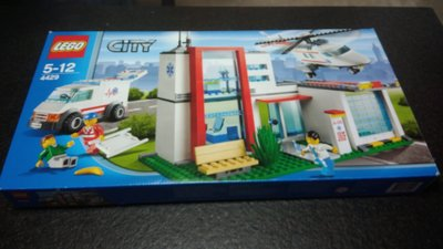 [二手]樂高,Lego 4429 City Town Hospital Helicopter Rescue