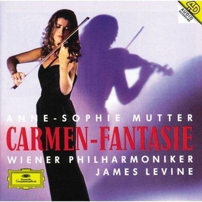 音樂居士*Anne Sophie Mutter - Carmen Fantasie 卡門幻想曲/穆特*CD專輯