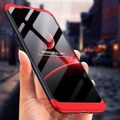 華為 HUAWEI Y9 / Y7 Pro 2019 拼接三合一手機殼 磨砂全包邊保護套 硬殼