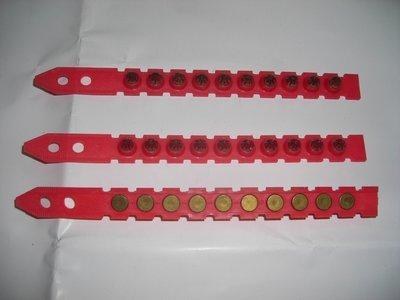 【順鴻】 HILTI 喜得釘 紅火藥[強型威力] 100pcs 原裝紅色火藥 鋼釘火藥槍 火藥釘槍 擊釘器用 DX火藥筒