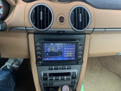 Porsche 保時捷 BOXTER 987 997 Cayman 凱門 7吋觸控專用主機 GPS/USB/導航/藍芽