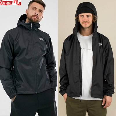 「i」【現貨】The North Face 黑 Quest Jacket 網格內裡 防風雨 連帽 夾克 風衣外套