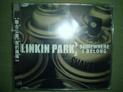 LINKIN PARK 聯合公園 Somewhere I Belong 我的歸屬 單曲CD 全新未拆