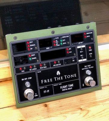 【又昇樂器 . 音響】二手精品 Free The Tone Fight Time FT-1Y Delay 空間效果器