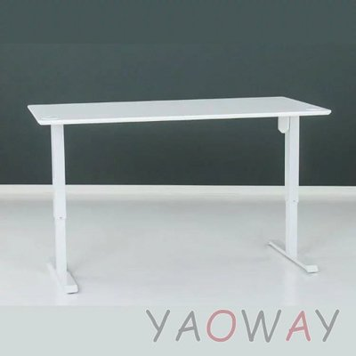 【耀偉】丹麥Conset康萊-電動升降桌501-33大張陶瓷白-含桌板180x80cm (工作桌/主管桌/兒童成長桌)