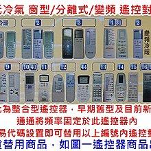 現貨 TECO 東元冷氣遙控器 適用 東元窗型 東元分離式 東元變頻 全機種皆可用 東元冷氣遙控 西屋冷氣遙控器
