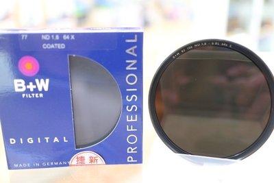 【日產旗艦】德國 B+W F-Pro ND106 ND64 58mm ND 減光鏡 減六格 捷新公司貨