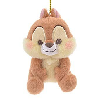 *B'Little World * [現貨] 東京迪士尼專賣店限定/松鼠奇奇毛絨絨吊飾/東京連線