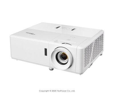 ZH403 Optoma 4000流明 DLP輕巧型高亮度工程及商用投影機 DLP 1920 x 1080解析/悅適影音