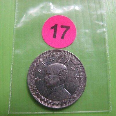 錢幣早期~(17)民國二十五年。廿分