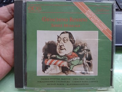 Soiree musicale Gioachino Rossini CD