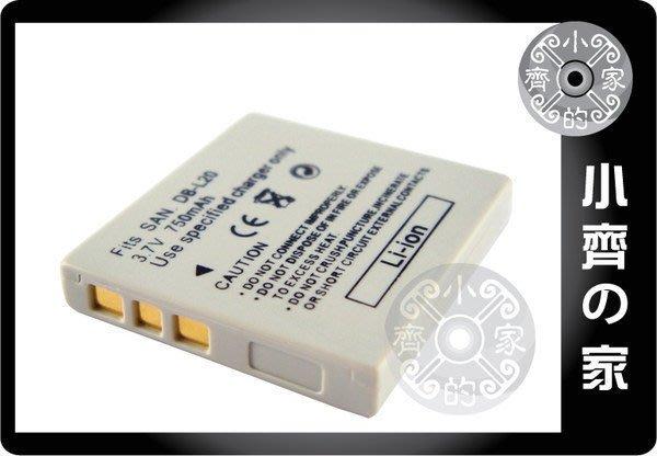 小齊的家 SANYO Xacti VPC-C4GX,VPC-C4S,VPC-C5,VPC-C5E,VPC-C5EX,DB-L20鋰電池