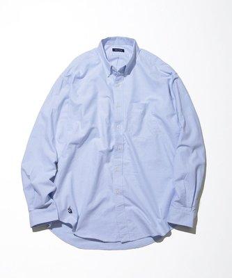 NAUTICA Regular BD Shirt Sail 藍M  長谷川昭雄