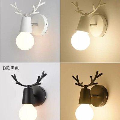 小鹿壁燈鹿角壁燈不含燈泡