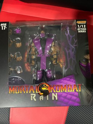 全新現貨靚盒 Storm Collectibles Mortal kambat : rain   1/12 figure