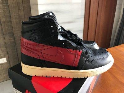 Nike Air Jordan 1 OG Defiant Couture 黑紅禁穿 台灣公司貨 US8.5 稀有小尺