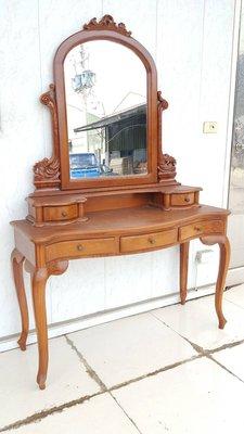 幸福家傢俱 柚木化妝台 (OTH 13) 可加購柚木椅