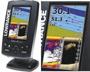 Lowrance  Elite-4 HDI    (4.3 吋) 海圖/定位/魚群探測儀 中文介面 實舖門市