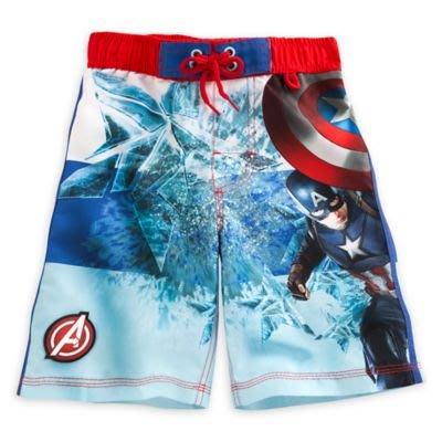 Bidbuy4u Disney Marvel Captain America Kids Shorts 18m 美國隊長 兒童短褲 704386591168
