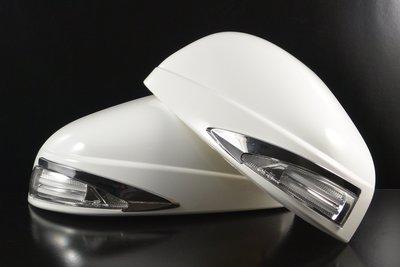 金強車業 納智捷 U6 2014-ON 套組件 雙功能葉子板側燈 後保桿燈 後視鏡外殼(素材)搭配雙功能側燈 工廠直送價