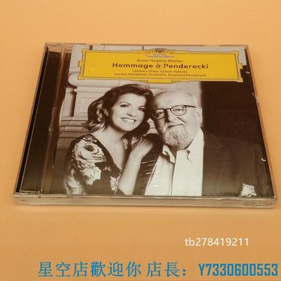 全新CD音樂 大荷花 穆特 Mutter 小提琴 潘德列茨基 致敬作品 4835163 2CD