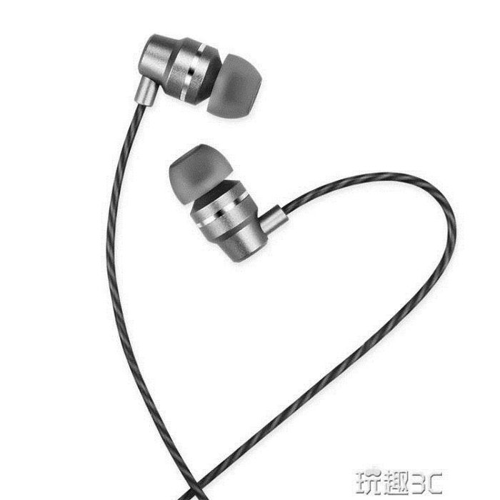 耳機 耳機入耳式耳塞重低音安卓手機通用有線控帶麥男女生
