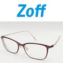 【皮老闆】一元起標 無底價 二手真品 ZOFF 鈦金屬 鏡框 韓國  製  (244)