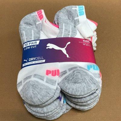 PUMA兒童短襪 男女童(適合鞋子尺寸19-21CM)Costco