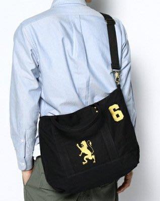 日本新款帆布加刺繡單肩斜跨兩用包外貿包休閒包