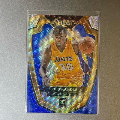 2014-15 Julius Randle Select RC Blue and Silver