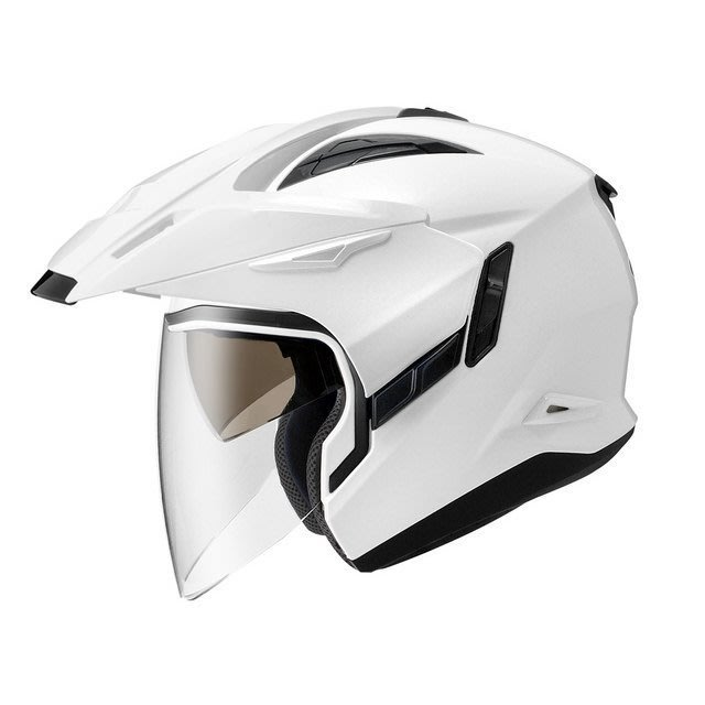 ZEUS 瑞獅安全帽,ZS-613A,素色/白