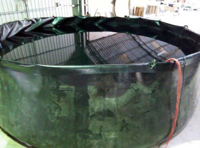 可摺式 HDPE 布 圓型 桶槽『直徑1~6M*高1.5M』(另有多種直徑選擇.蓄水池.養殖池.灌溉儲存桶槽)