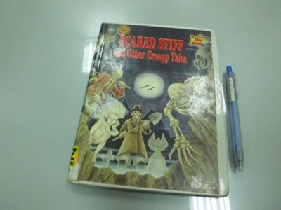 A15-4cd☆1991年『SCARED STIFF and Other Creepy Tales』原文 英文童書繪本