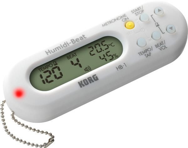 【六絃樂器】全新 Korg HB-1 數位電子節拍器 / 內建溫度濕度計
