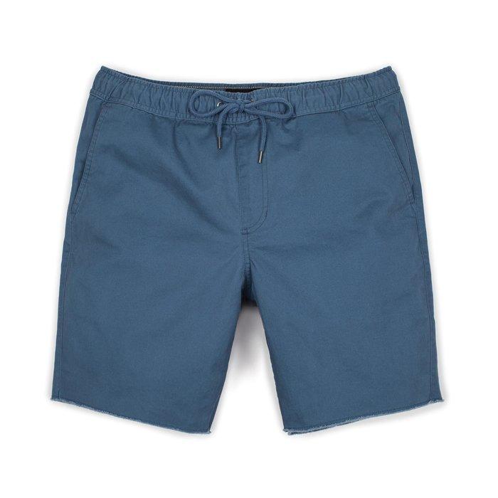[CABAS滑板店] BRIXTON MADRID SHORT 丈青色 │短褲 鬆緊帶 水洗