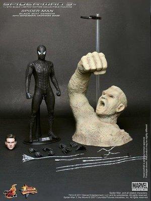 全新 Hot Toys 1/6 MMS165 蜘蛛人3 Spiderman 3 黑蜘蛛 Black Suit