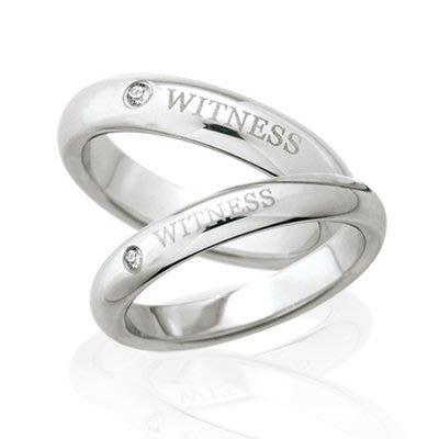 KOR 蔻兒 『幸福的依靠』白鋼鑽石戒...