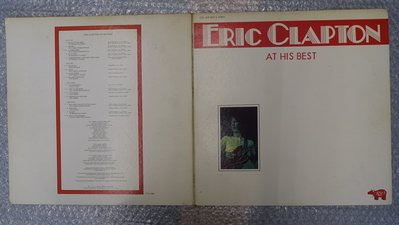 【柯南唱片】Eric Clapton (艾力克萊普頓)//2片裝//MW 9037>>日版LP