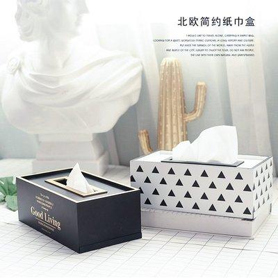 禧禧雜貨店-北歐風格木質紙巾盒 INS...