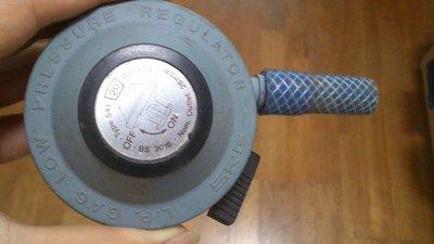 L.P. Gas low pressure regulator 瓦斯調整器