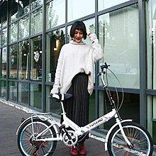 折疊自行車女式單車超輕便攜迷你小型輪20寸16變速減震成人學生男 LX 『拾月生活小鋪』