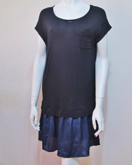 【絲絲入扣】專案出清~日單圓領小包袖 連身裙 長袖蕾絲罩衫  時尚短袖  三款2件1200元