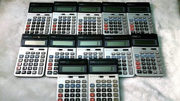 ☆寶藏點☆CASIO計算機JS-20LA JS-10LA JS-20L JS-系列 銀行員最愛DT308