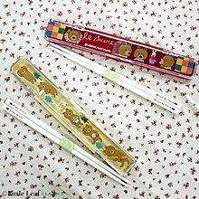 Gift41 4165本通 三重店 法國熊 筷子組 全二款