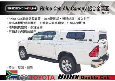 ||MyRack|| BeekMan Rhino Cab Alu Canopy 鋁合金高蓋 TOYOTA HULIX