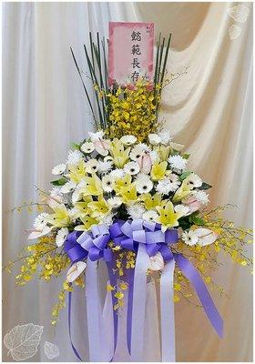 【gfg318】告別式花籃/大型典雅花柱(1組/個)~喪禮.出殯羅馬柱~歐式綠坊花苑