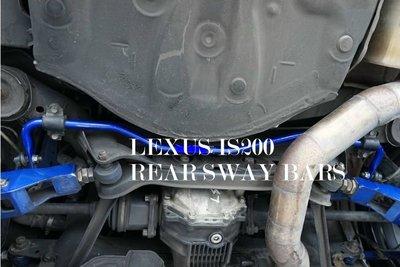 「通信販售」D.R DOME RACING LEXUS IS200 後防傾桿 實心 Altezza is300
