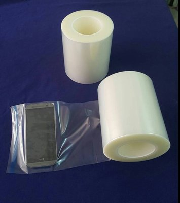 【Jason包裝網】PE-250保護膜110mm*200M*1捲/中高黏度/螢幕保護膜//適合貼稍粗表面、塑膠射出